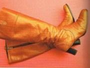 ロングブーツの補修
